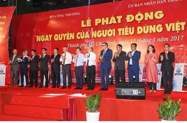 Phát động Ngày Quyền của người tiêu dùng Việt Nam năm 2017